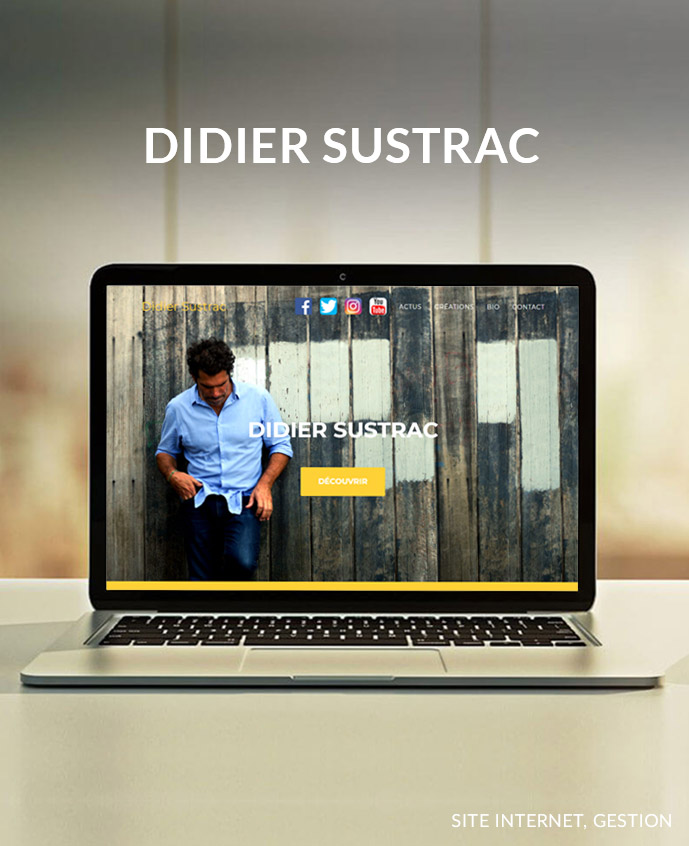 Didier Sutrac site inernet