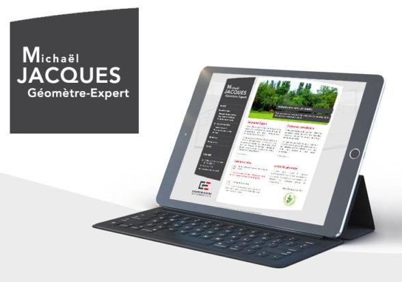 Geometre Jacques site internet