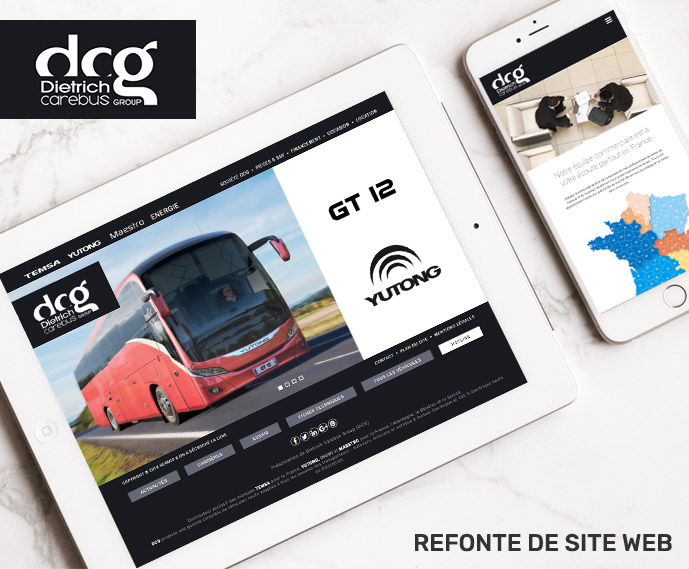 Groupe dcg refonte site web
