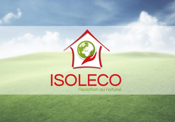 Isoleco site, logo, plaquette