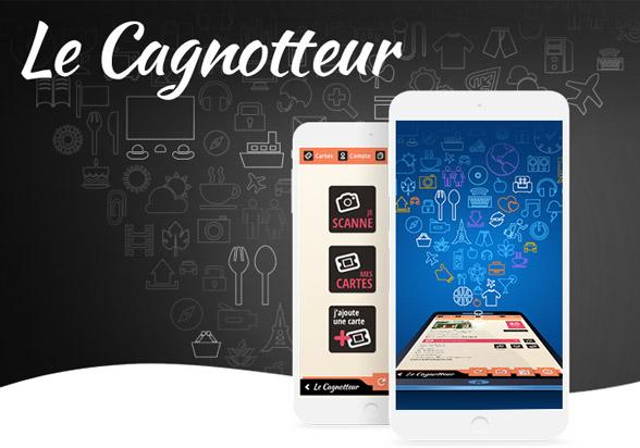 Le Cagnotteur design, logo, app