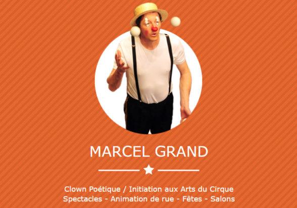 Marcel Grand site internet