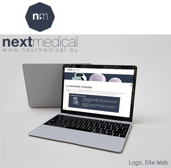 Next Medical site web, logo