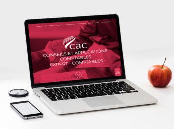 Groupe CAC refonte de site web