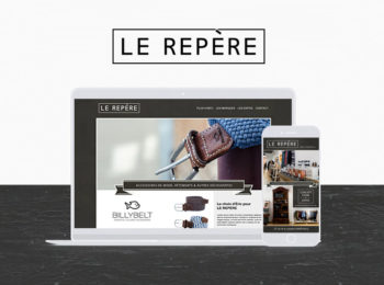 Le Repère PAO, design, site web