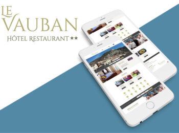 Le Vauban logo, site web