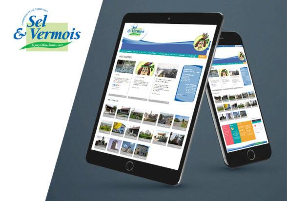 Sel et Vermois, site Internet